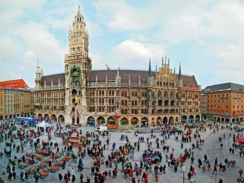 гости мюнхен площадь мариенплац фото именно то, что